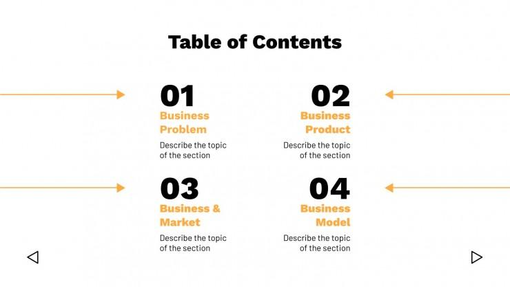 General Pitch Deck presentation template
