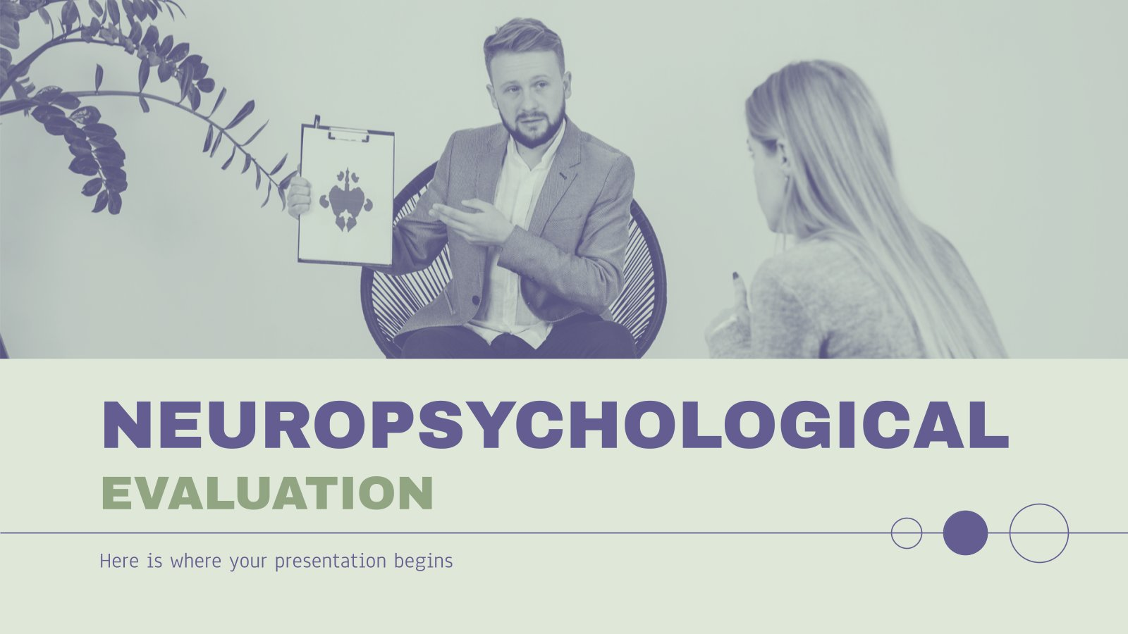 Neuropsychological Evaluation presentation template