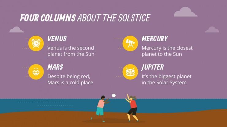Super Summer Solstice presentation template