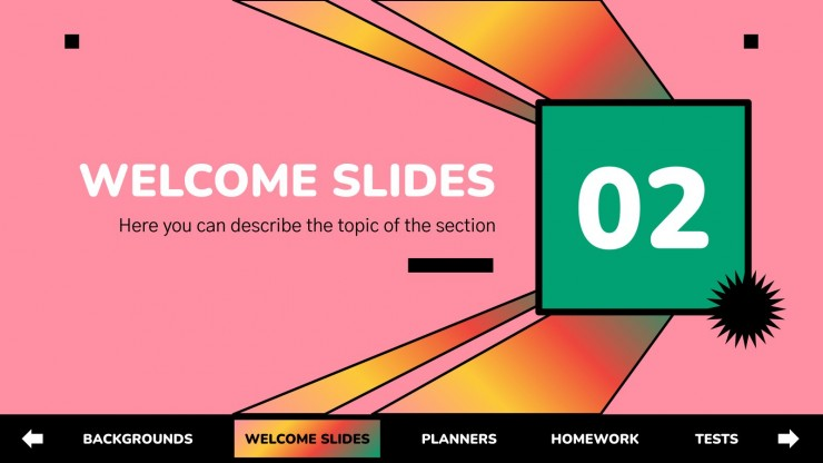 Interactive Education Pack for Teachers presentation template