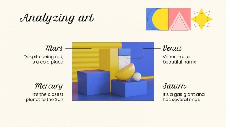 Modelo de apresentação Aulas de arte para ensino básico: Artesanato
