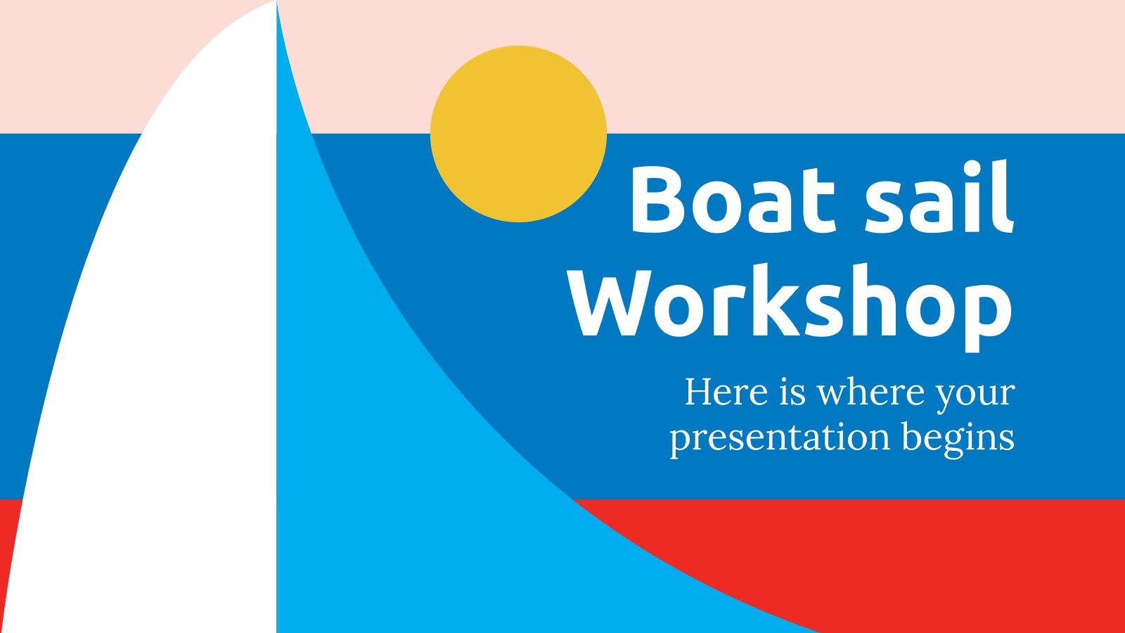 Boat Sail Workshop presentation template