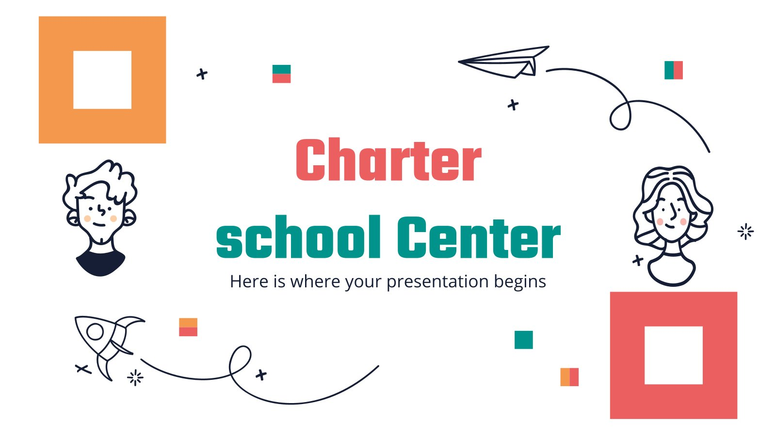 Modelo de apresentação Centro escolar Charter