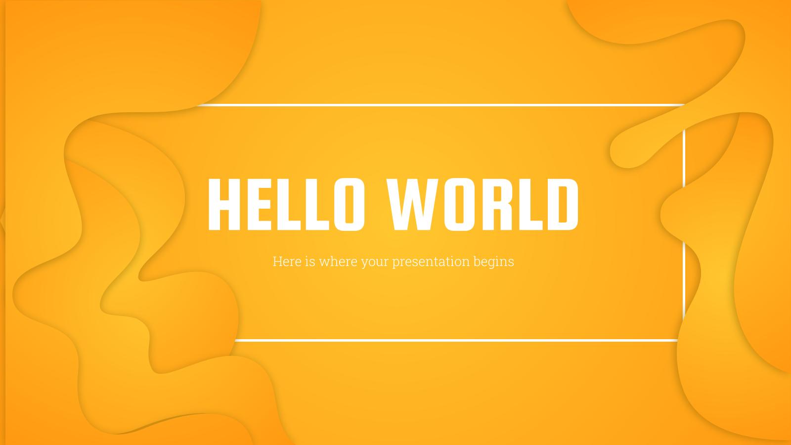 Startup Inspiration Black presentation template