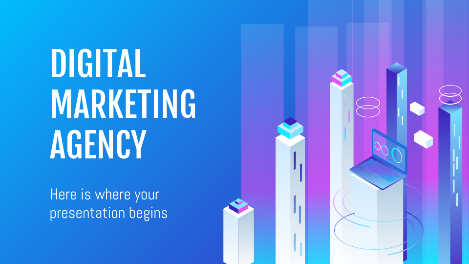 Digital Marketing Agency presentation template