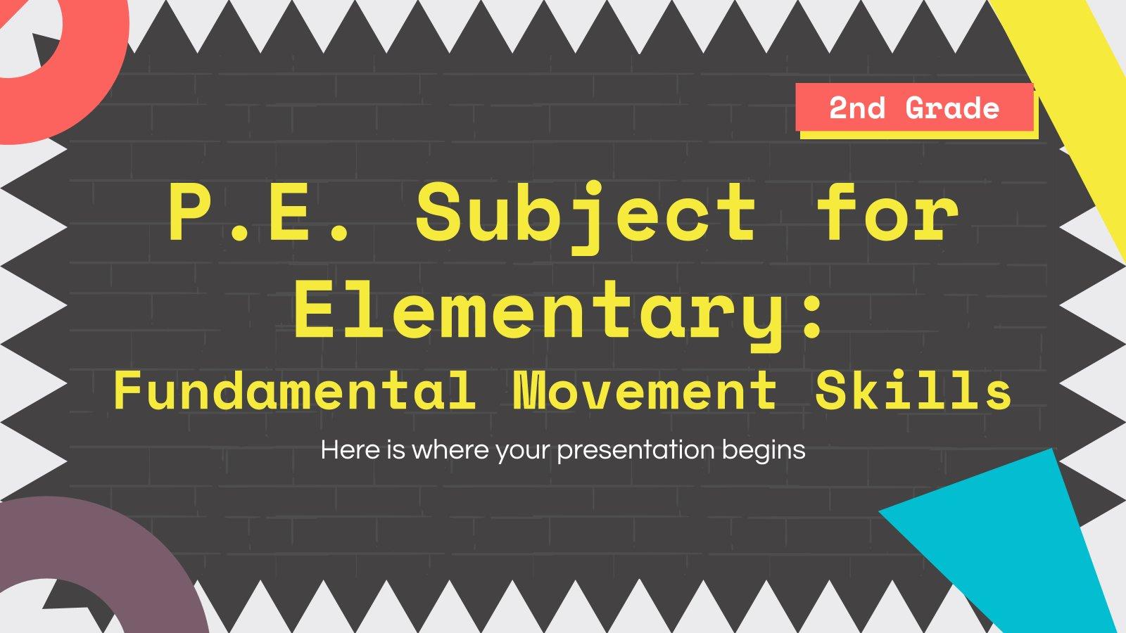 Modelo de apresentação Educação física: Habilidades motoras básicas