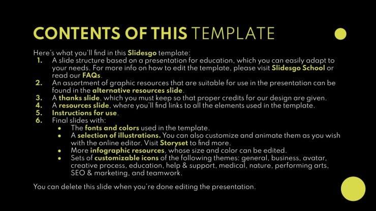Gestaltung & Design Studium Präsentationsvorlage