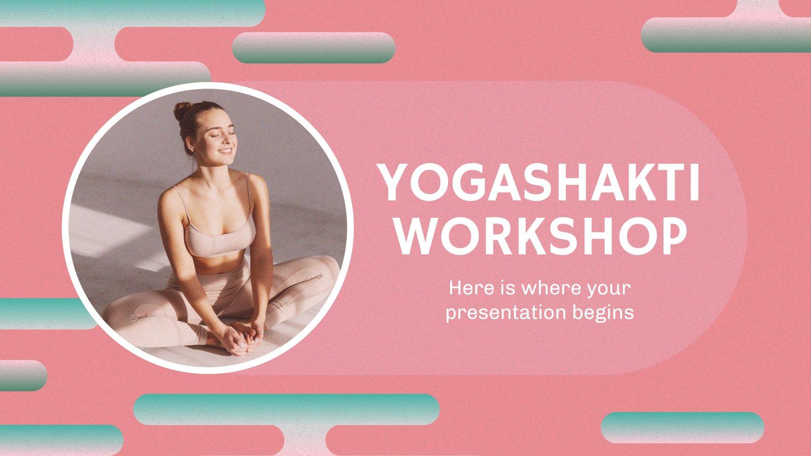 Modelo de apresentação Oficina Yogashakti