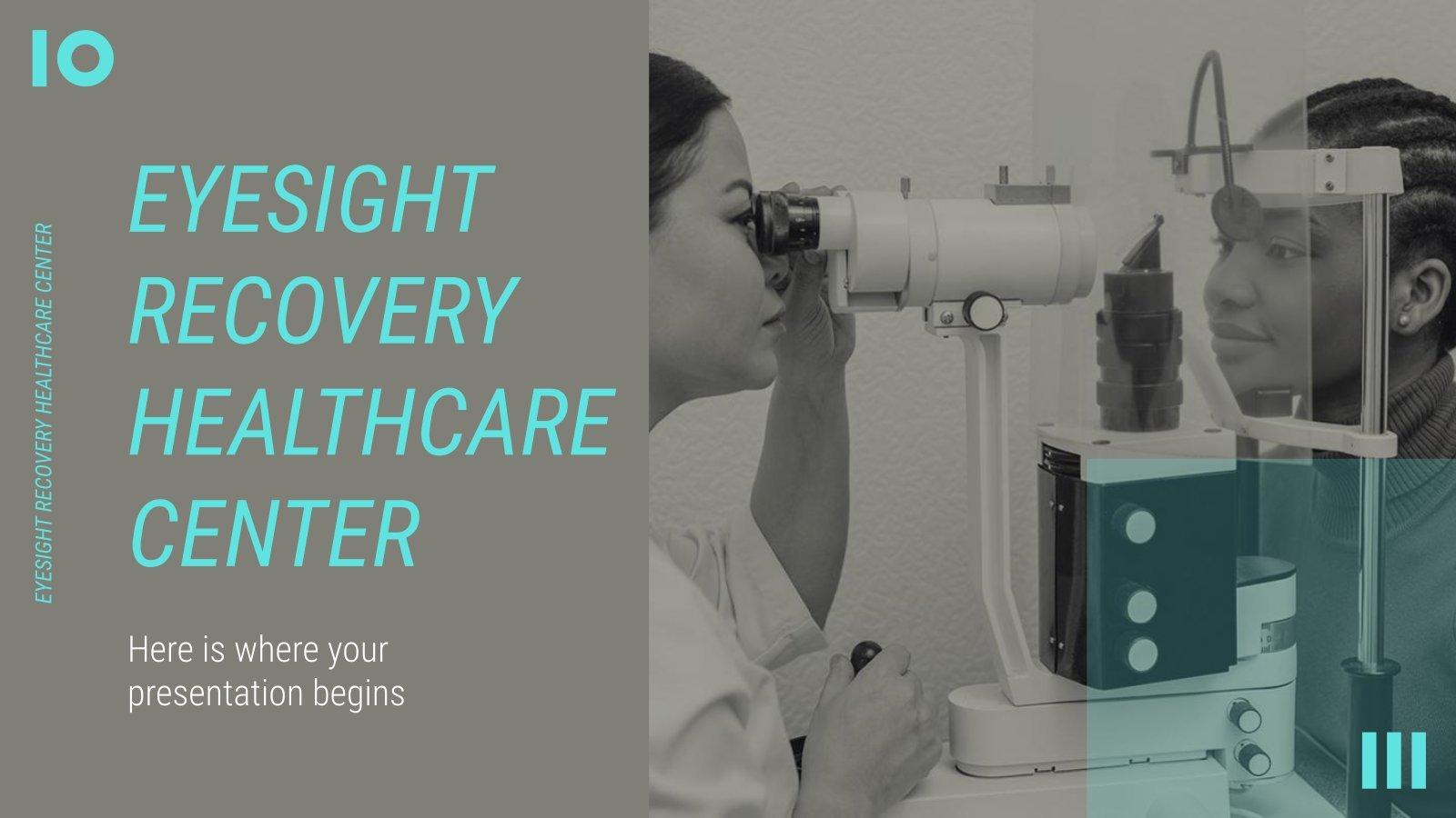 Eyesight Recovery Healthcare Center presentation template