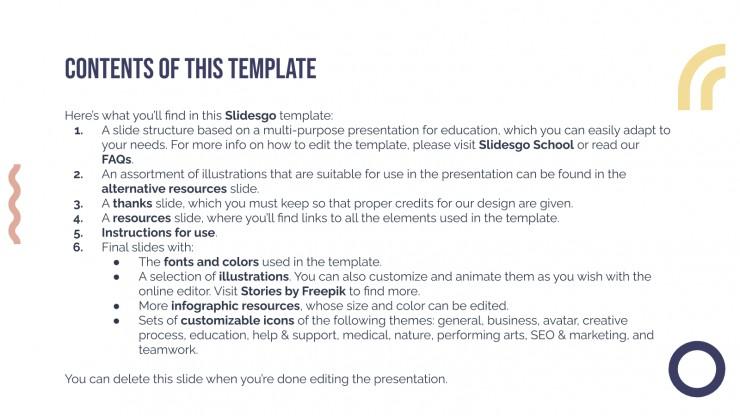 University Webinar Certificate presentation template