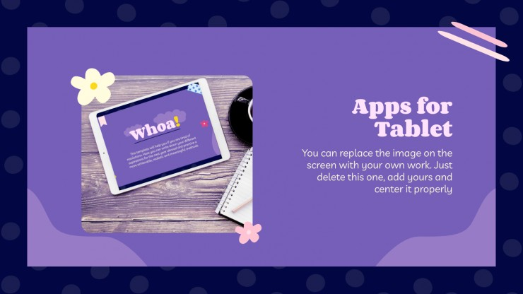 My New Year's Aspirations presentation template