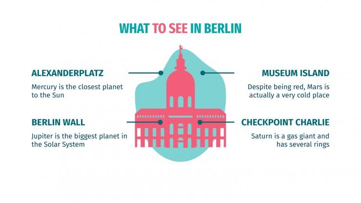Modelo de apresentação Guia de viagem: Berlim