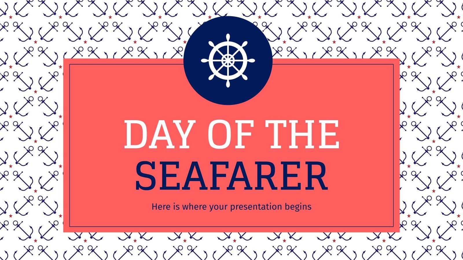 Tag des Seefahrers Präsentationsvorlage