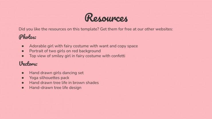 International Fairy Day presentation template