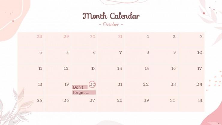 Pastel Pink Business Agenda presentation template