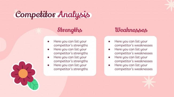 Plan marketing pour les mariages avec autocollants : Modèles de présentation