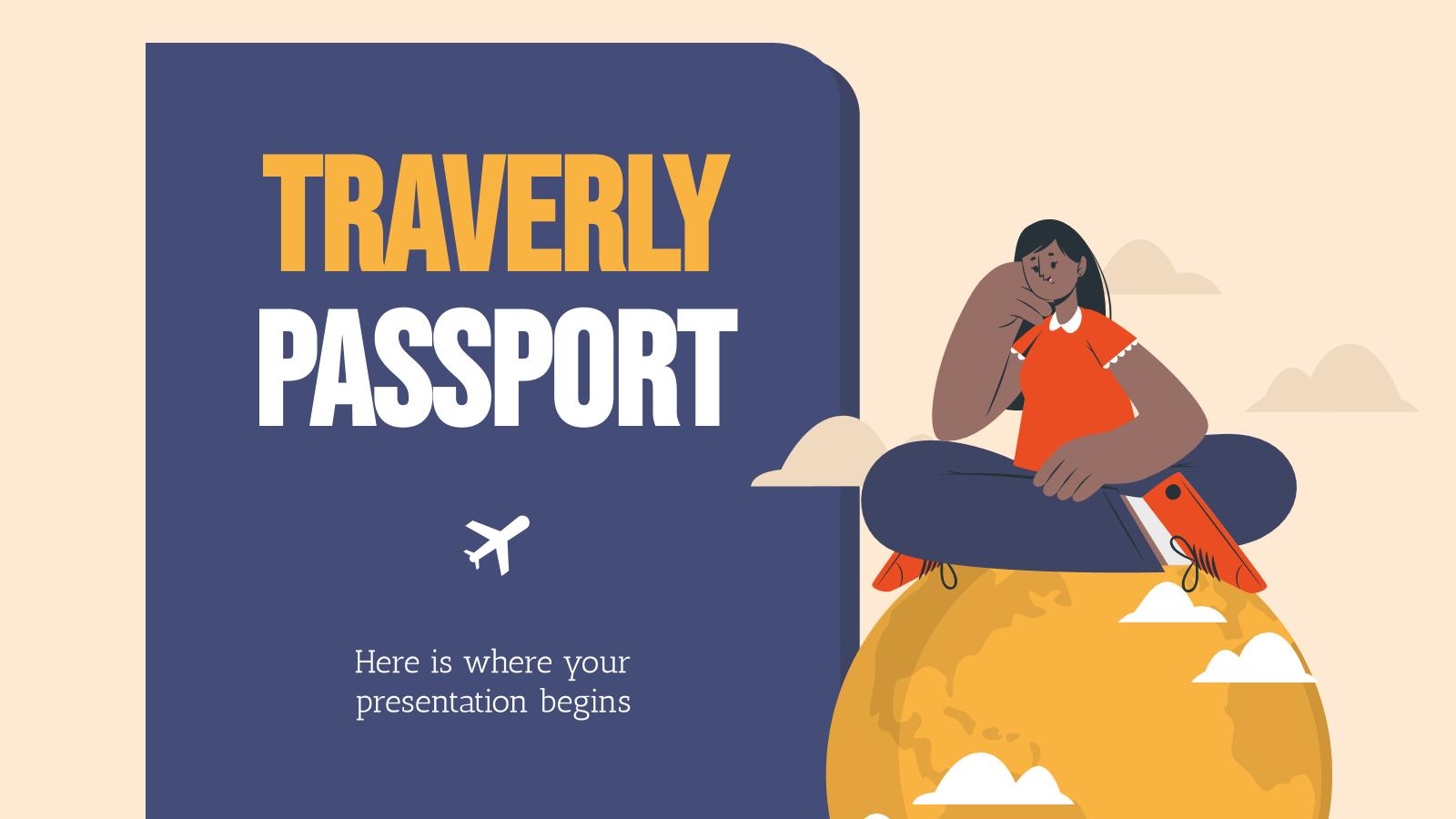 Passeport Traverly : Modèles de présentation