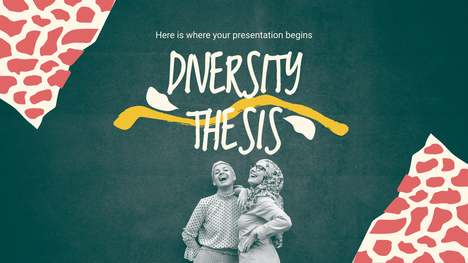 Diversity Thesis presentation template