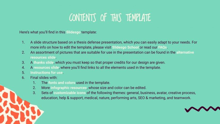 Diversity Thesis presentation template