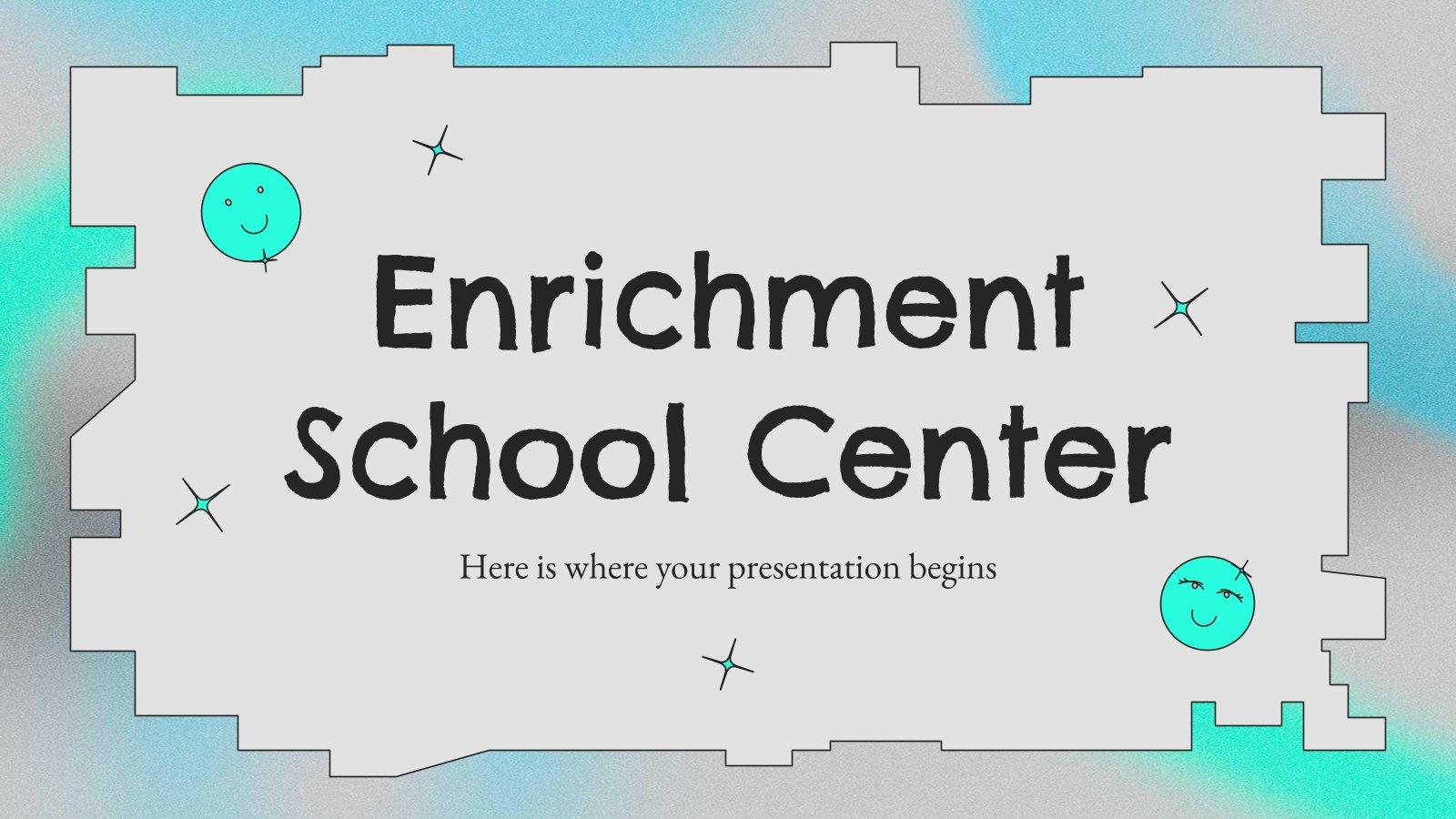 Bereicherung Schulzentrum Präsentationsvorlage