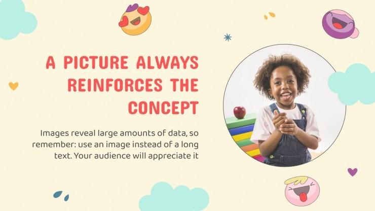 Emotional Intelligence Subject for Pre-K: Motivation presentation template