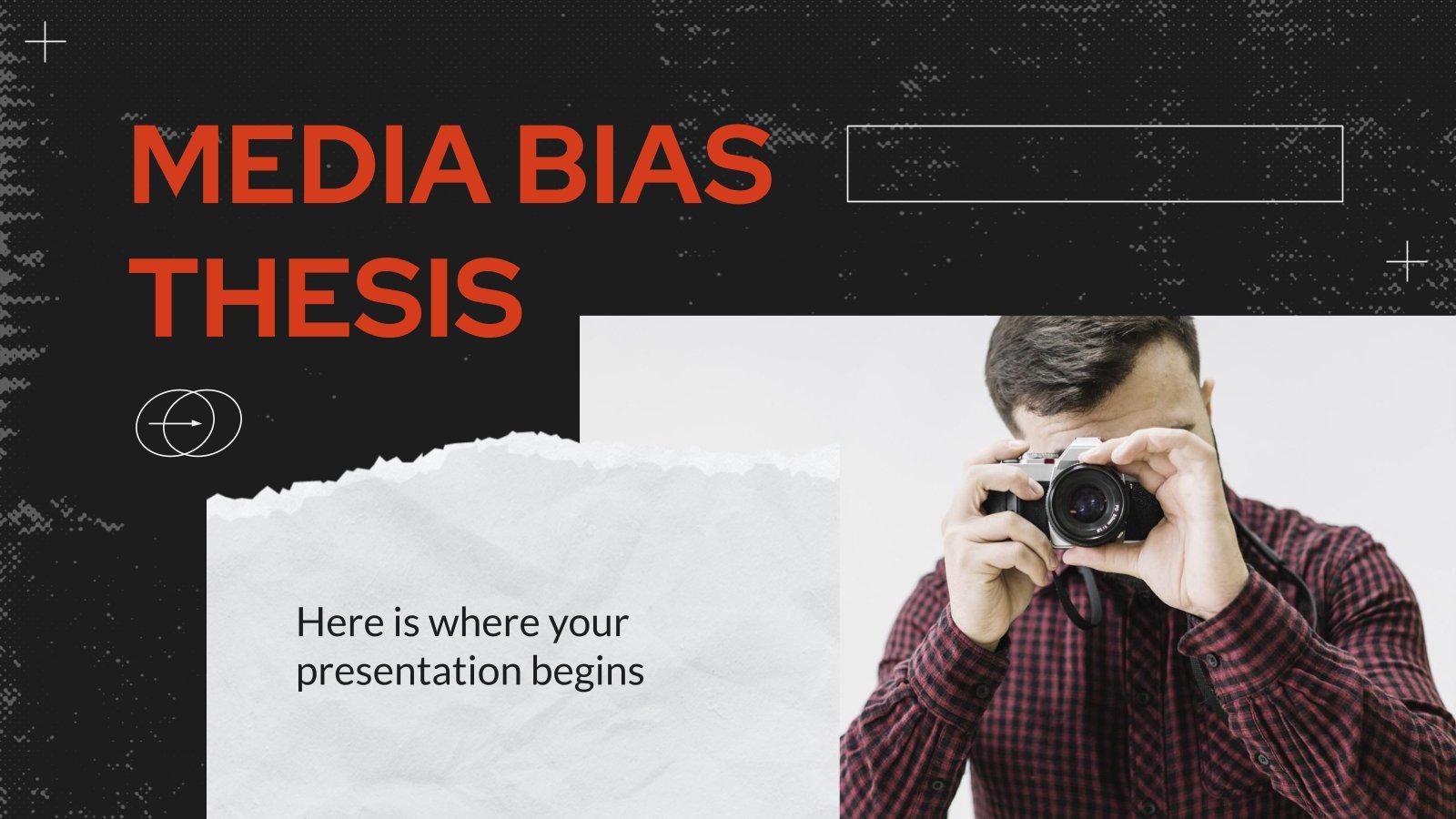 Media Bias Thesis presentation template