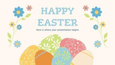 Plantilla de presentación Pascua