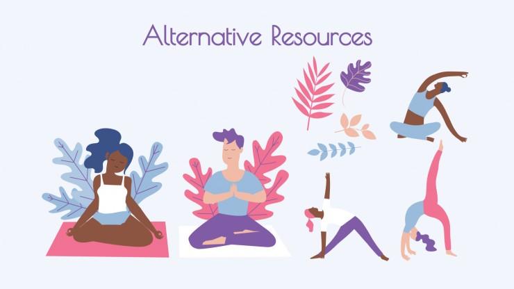 Centre de yoga et de méditation : Modèles de présentation