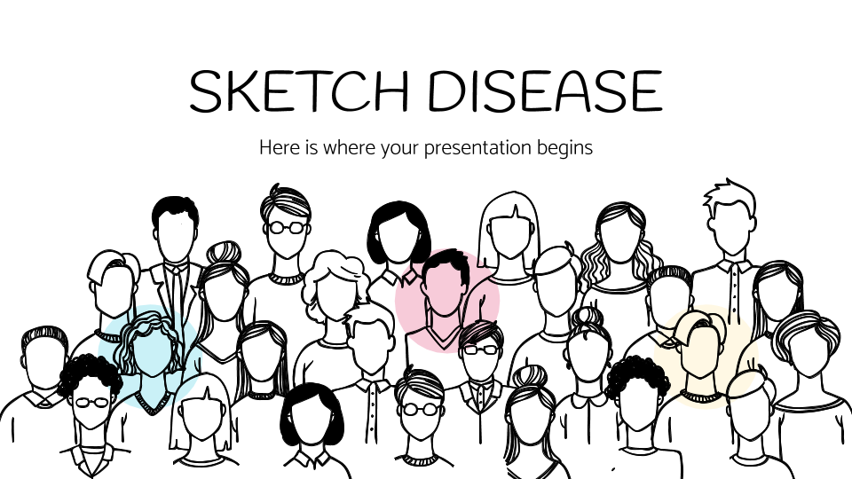 Sketch Disease presentation template