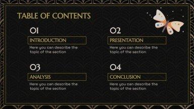 Mois du mystère : Modèles de présentation