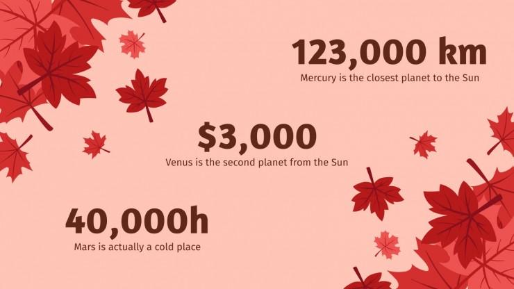 Canada Day presentation template