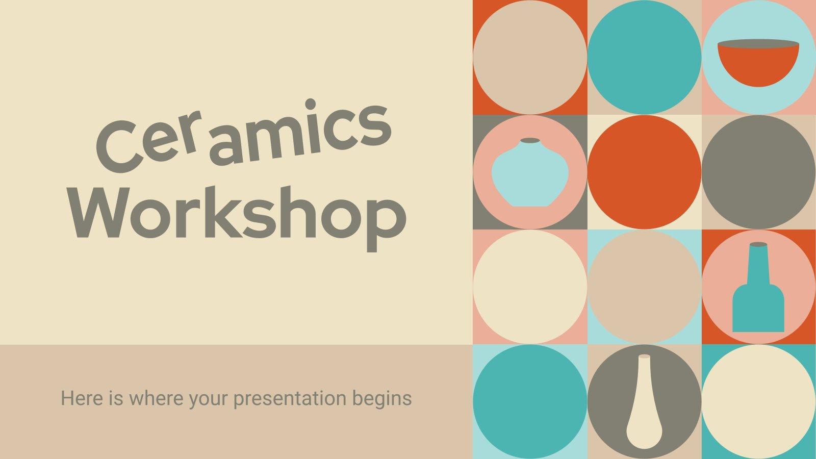 Ceramics Workshop presentation template