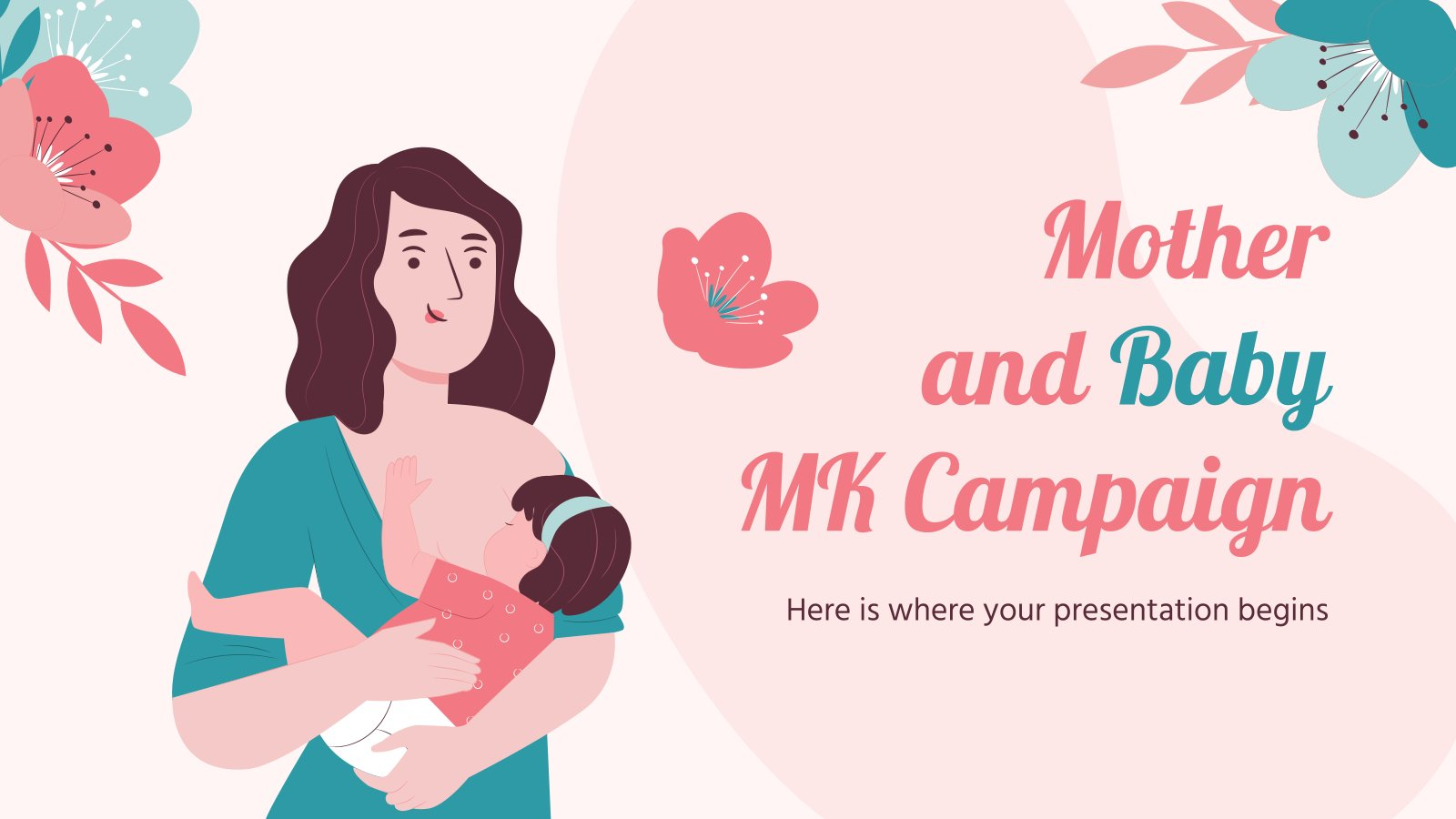 Mother and Baby MK Campaign presentation template