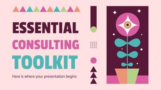 Essentielles Beratungs-Toolkit Präsentationsvorlage
