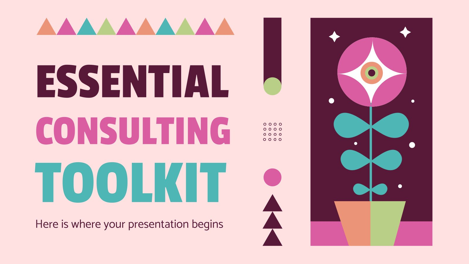 Essential Consulting Toolkit presentation template