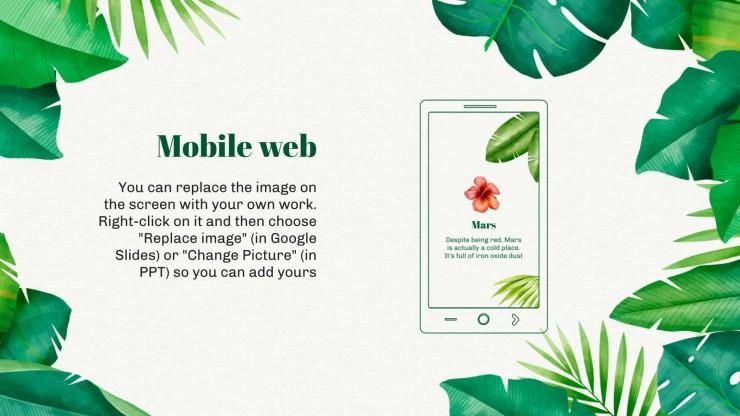 Plantilla de presentación Día Internacional de los Trópicos