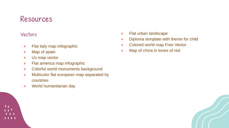 Geography Activities (Me on the Map) presentation template