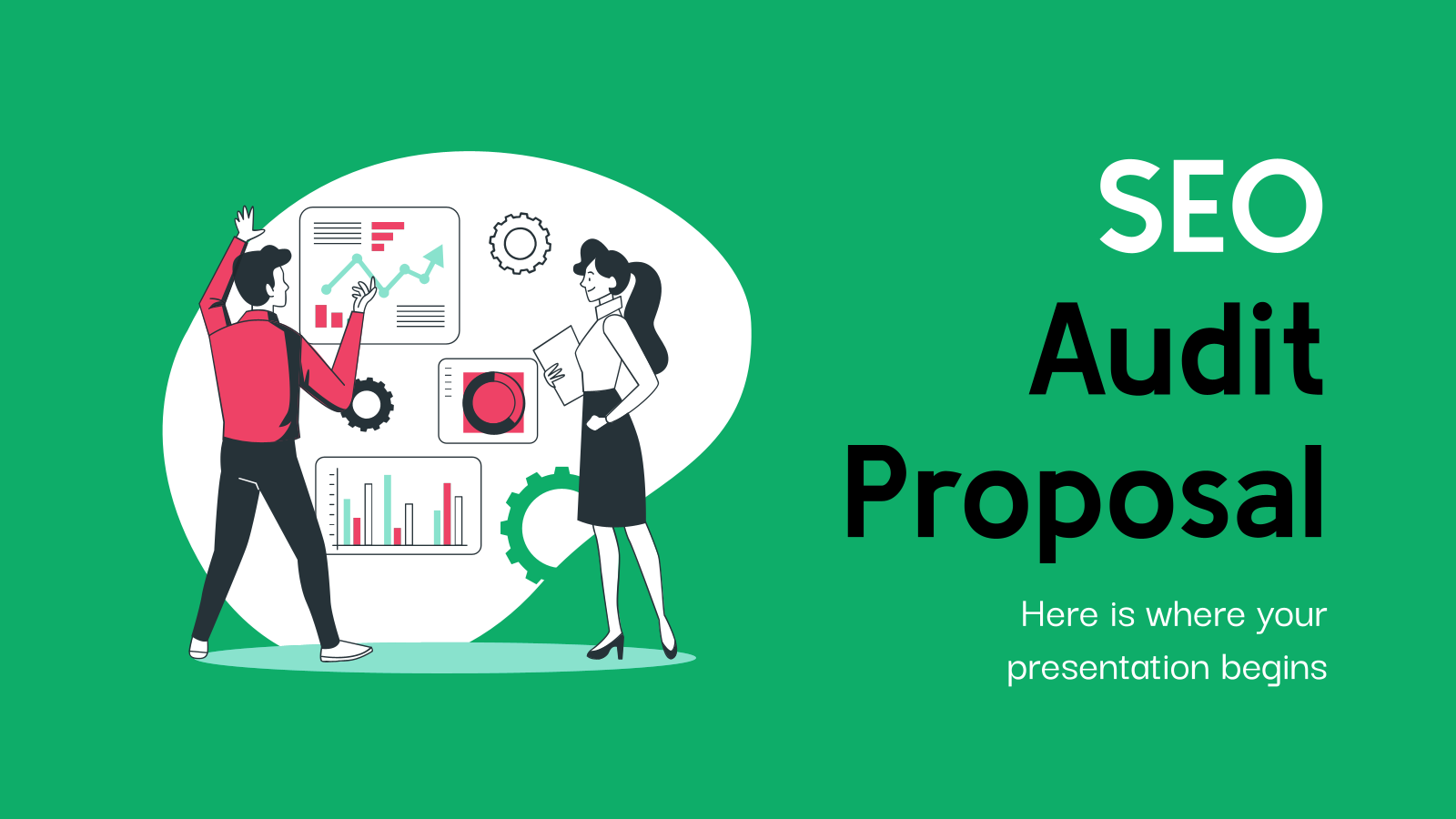 SEO Audit Proposal presentation template