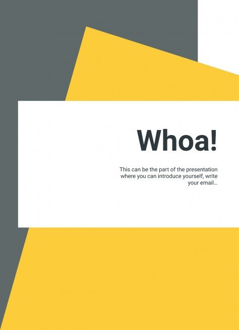 Minimalist Monthly Report (A4) presentation template