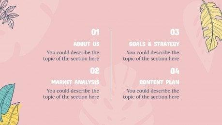 Campagne d'été : Modèles de présentation