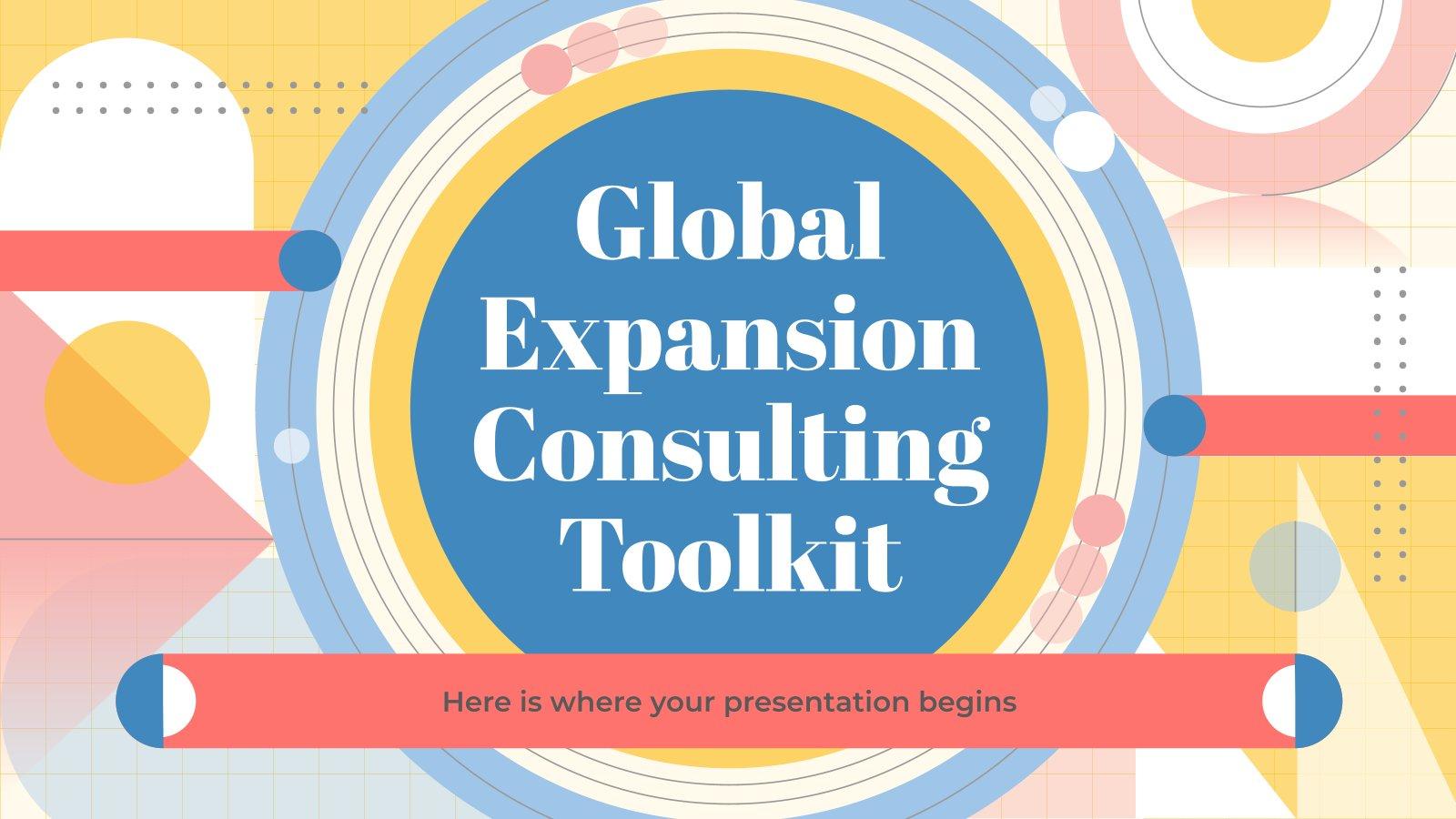 Boîte à outils du consultant : Expansion du marché : Modèles de présentation
