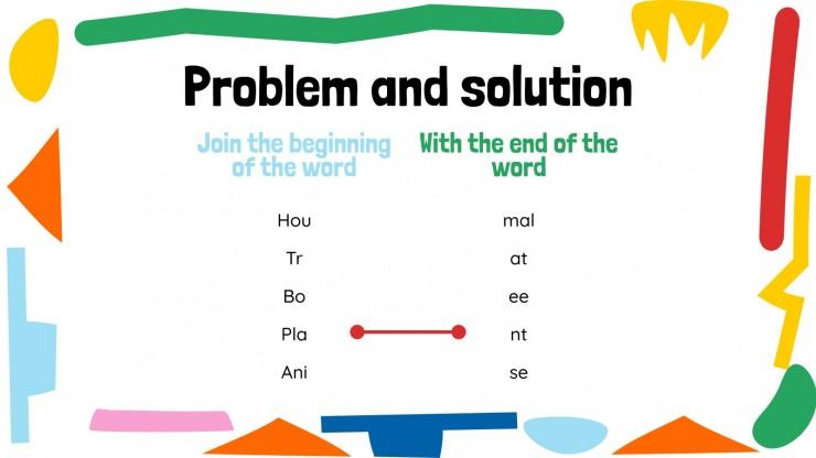 Phonetik für Pre-K: Phonemische Bewusstheit Präsentationsvorlage