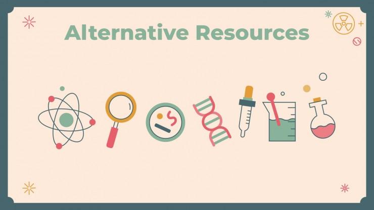 Forschungsmethoden-Unterricht Präsentationsvorlage