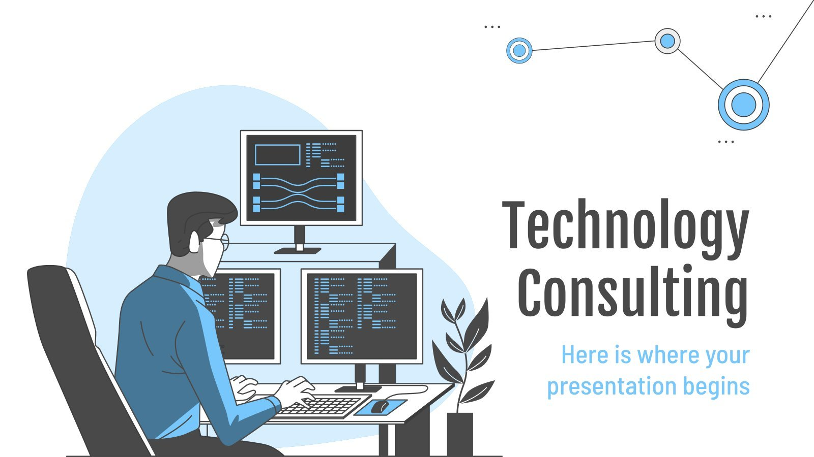 Technology Consulting presentation template