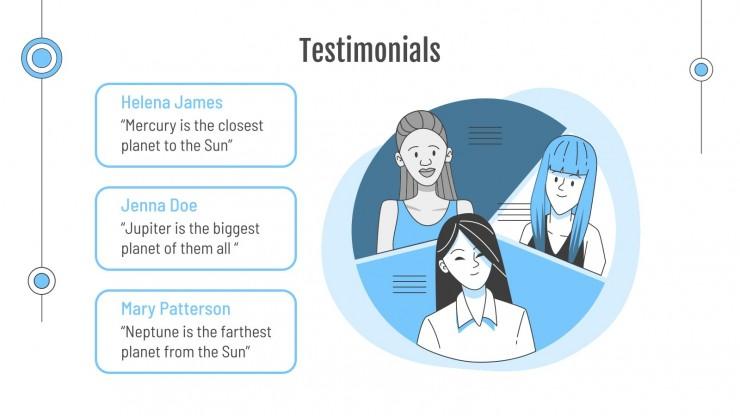 Expertise-conseil en technologie : Modèles de présentation