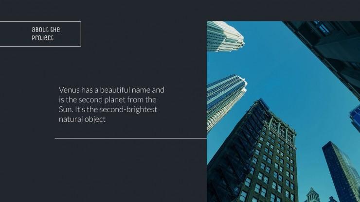 Réunion d'entreprise de ville intelligente : Modèles de présentation