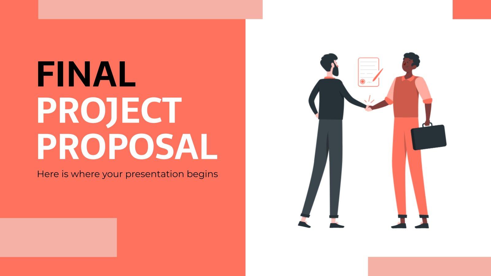 Final Project Proposal presentation template
