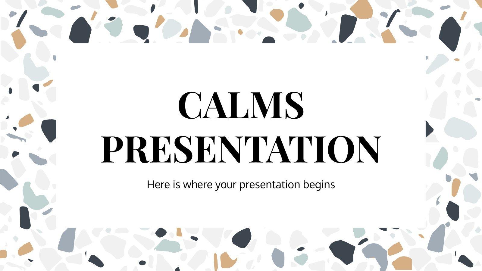 Calms presentation template