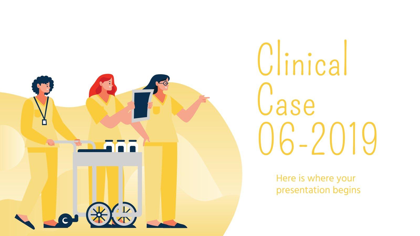 Modelo de apresentação Caso clínico 06-2019
