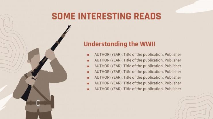 Plantilla de presentación Invasión del Día D Segunda Guerra Mundial